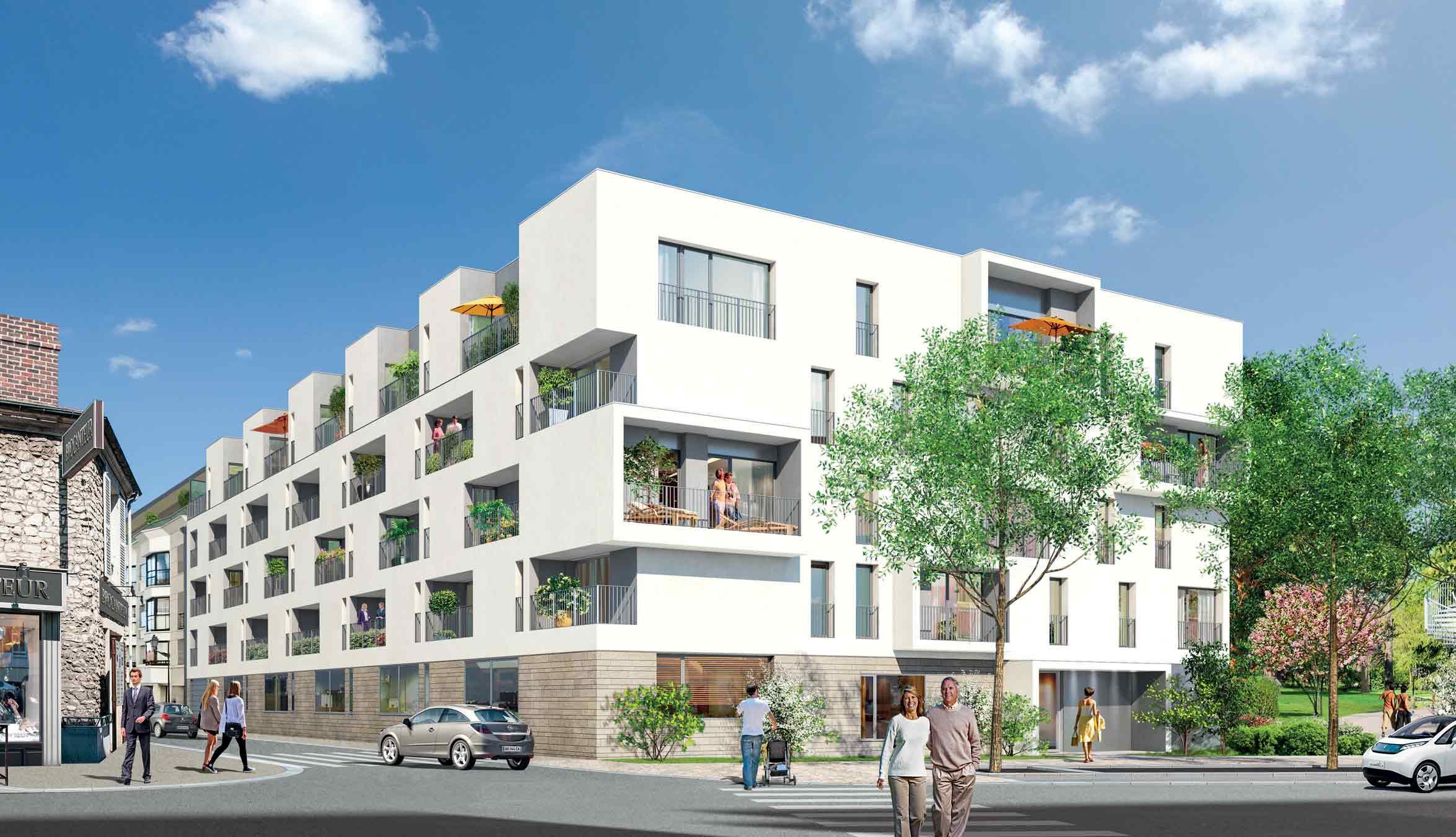 """Lancement des """"Loggias du Parc"""", une résidence adaptée a Mantes la Jolie"""