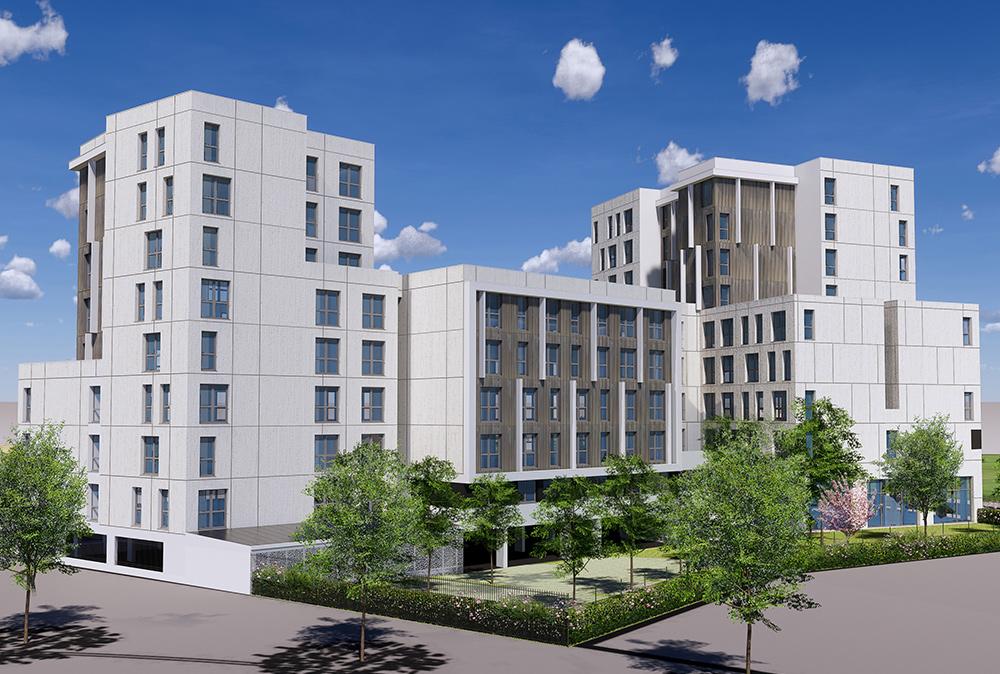 ISF Energies démarre une résidence étudiante à Achères pour AB Group